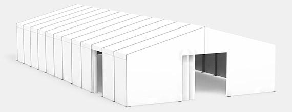 Zelthalle ECO-Line unisoliert