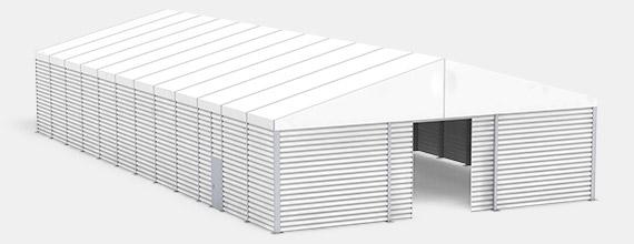Zelthalle BASIC-Line unisoliert