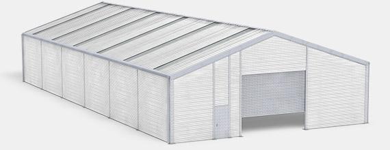 Leichtbauhalle ISO-Line isoliert