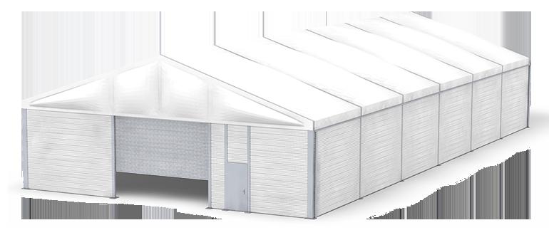 Zelthalle ISO-Line mit Isolierung