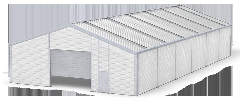 Leichtbauhalle ISO-Line mit Isolierung
