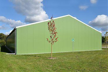 Lagerhalle 20 × 40 m | Lager für Kommunikationstechnik