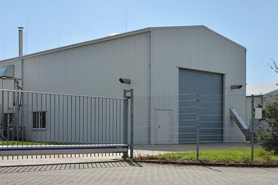 Maschinenhalle 10 × 45 m | BHKW-Anlage