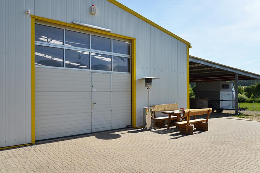 Werkstatt und Lagerhalle 12,50 × 20 m | Hobbywerkstatt und Garage