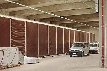 Baustellenzelt 20 × 60 m | Baustelleneinhausung