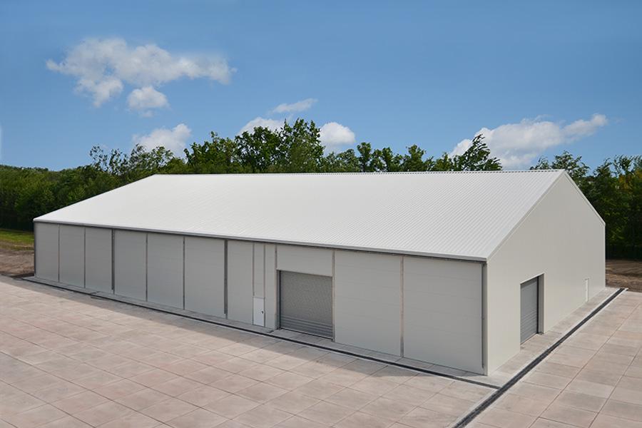 Lagerhalle 30 × 50 m | Ersatzteillager