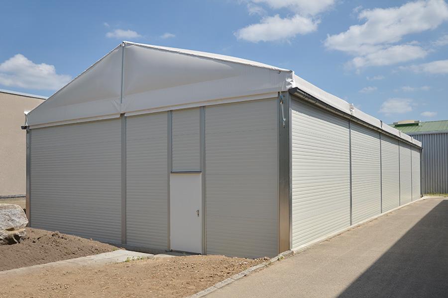 Produktionshalle 10 × 25 m | Entwicklung und Fertigung