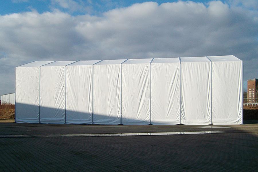 Fahrzeughalle 7,50 × 20 m | Fahrzeugunterstand