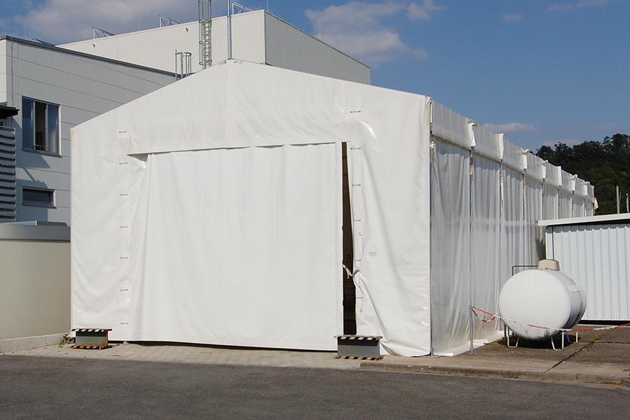 Forschungshalle 7,50 × 20 m | Forschung und Entwicklung