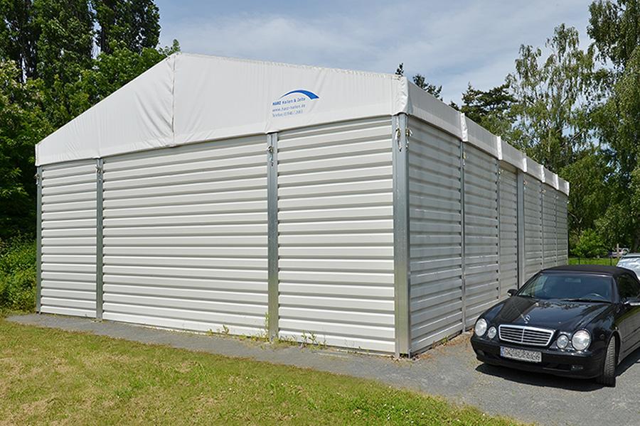Lagerhalle 10 × 15 m | Lager für Reinigungsartikel