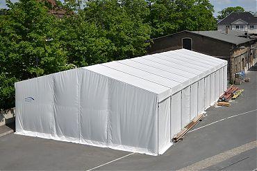 Lagerhalle 12,50 × 25 m | Lager für Papierfabrik