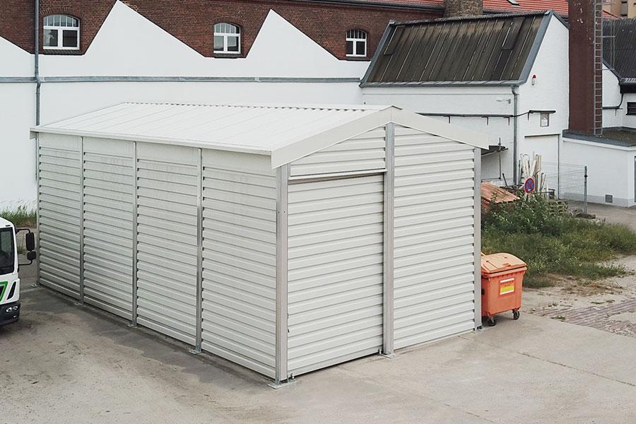 Lagerhalle 5 × 10 m | Lager für Medizintechnik
