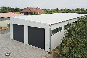 Werkstatthalle 10 × 30 m | Garage für Transporter/LKW