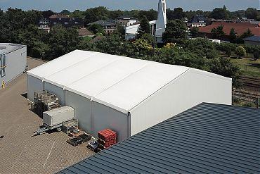 Lagerhalle 15 × 20 m | Zwischenlager
